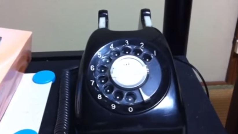 黒電話 使い方 説明 図2